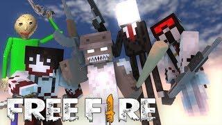 Download Monster School : Free Fire Baldi's Granny Grandpa Slenderman Slendrina Jeff Video