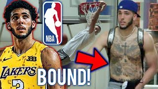 Download LiAngelo Ball is NBA Bound!! Future Laker PROVES Why He is a First Round Pick! Video