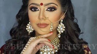 Download INDIAN | Bollywood | South Asian Bridal Makeup - Start To Finish @Blueroseartistry Video