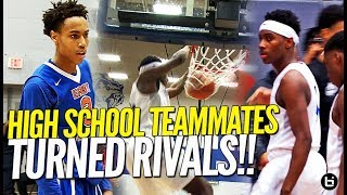 Download TEAMMATES TURNED RIVALS!! Mario Mckinney Goes Against Former Teammate in Basketball Rivalry Game! Video