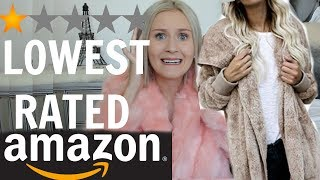 Download I BOUGHT THE LOWEST RATED ITEMS ON AMAZON Video