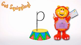 Download Get Squiggling Letters   Letter P Video