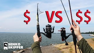 Download Save your Money! Telescopic Fishing Rod VS Two-piece Fishing Rod Video