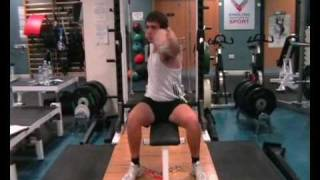 Download Specific Strength Training for the Discus Throw Video