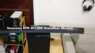 Download Samsung HW-H7500 Curved Soundbar Review Video