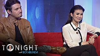 Download TWBA: Is there an awkward moment between Gelli and John in the set of Magpahanggang Wakas? Video