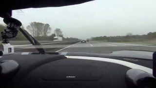 Download Koenigsegg Agera R driving in German Autbahn unlimited in speed Video