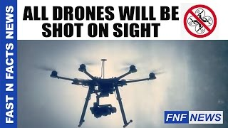 Download DroneGun in action destroying the drone aircraft | FAST N FACTS NEWS Video