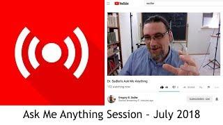 Download Dr. Sadler's July AMA (Ask Me Anything) Session Video