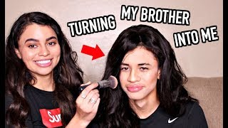 Download TRANSFORMING MY BROTHER INTO ME ! Video
