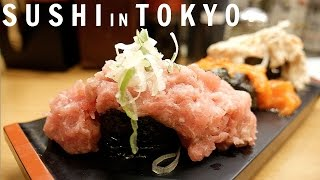 Download 5 Delicious And Cheap Sushi Restaurants In Tokyo   Japan Food Guide Video