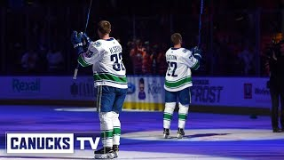 Download Daniel and Henrik Sedin's Final NHL Game - Behind-the-Scenes Video