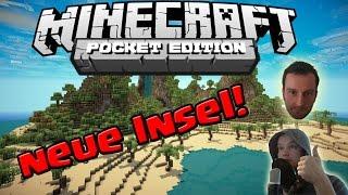Download NEUE INSEL! || MINECRAFT POCKET EDITION! || Survival Island #3 || LP MCPE [Deutsch/German HD+] Video