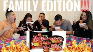 Download EXTREME Spicy Ramen Challenge - FAMILY EDITION!!! Video