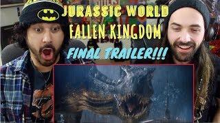 Download JURASSIC WORLD: FALLEN KINGDOM - FINAL TRAILER REACTION & REVIEW!!! Video