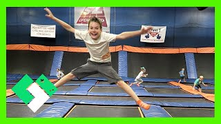 Download SKY ZONE BIRTHDAY JUMPING FUN (Day 1500) Video
