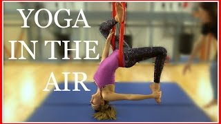 Download MY FIRST AERIAL YOGA CLASS | VLOGMAS #6 AD Video