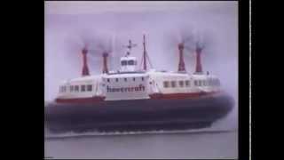 Download SRN4 Hovercraft Princess Margaret arriving at Lee on Solent Video