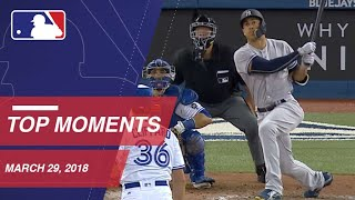 Download Top 10 Plays from Opening Day - 3/29/18 Video