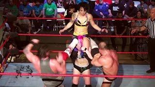 Download [Free Match] Heidi Lovelace (Ruby Riott) & Kimber Lee v Dickinson & Callihan (Intergender Wrestling) Video