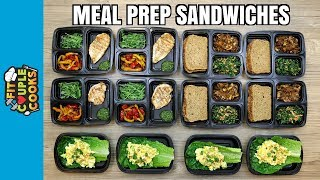 Download How to Meal Prep - Ep. 70 - Healthy Sandwiches to Kickstart 2018 (Vegan Option) Video