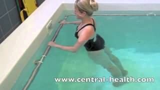 Download Hydrotherapy Exercises - Lumbar spine stretches Video