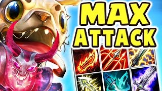 Download THIS DAMAGE IS NOT LEGAL!! 100% CRIT MAX ATTACK SPEED | THE BEST ADC 27 KILLS PUG'MAW DUO Nightblue3 Video
