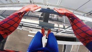 Download SPIDERMAN Fights Crime - Real Life Parkour POV Video