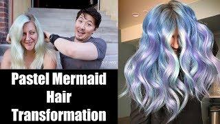 Download Pastel Mermaid Hair Transformation Video