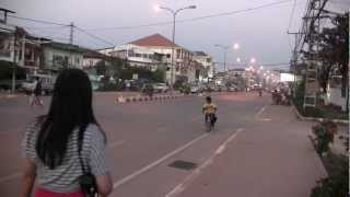 Download Arrival at Vientiane Laos P.D.R. Video