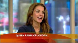 Download Queen Rania on 'Illegal' Israeli Settlements Video