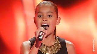Download Alexa Sings Girl On Fire   The Voice Kids Australia 2014 Video