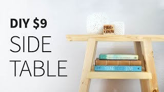 Download $9 2X4 Side Table (free plans) Video