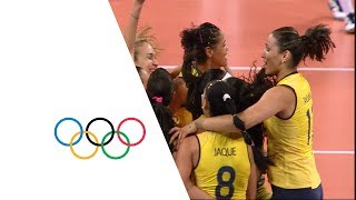 Download Brazil vs Russian Fed. - Women's Volleyball Quarterfinal | London 2012 Video