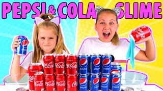 Download Don't Choose the Wrong COCA COLA or PEPSI SLIME CHALLENGE!! Video