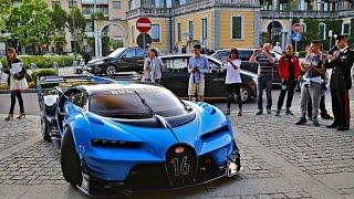 Download Bugatti Vision Gran Turismo Concept - Start Up - Driving - Loud Sound Video