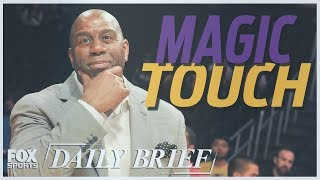 Download Magic Johnson, Carmelo Anthony, Tom Brady (7.20.18) | FOX SPORTS DAILY BRIEF Video