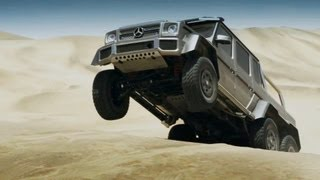 Download Mercedes G63 AMG 6x6 – Extreme Pickup Video
