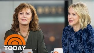 Download Susan Sarandon And Naomi Watts On Co-Starring In '3 Generations' | TODAY Video