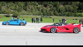 Download THE ULTIMATE DRAGRACE - LaFerrari FXX-K, Mclaren P1, F12 TRS, Mercedes CLK GTR & MORE Video