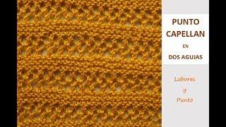 Download Como tejer el punto capellán en dos agujas Video