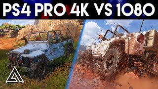 Download Uncharted 4 PS4 Pro 4k vs 1080p Gameplay Video