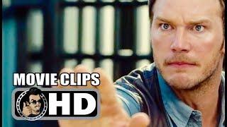 Download JURASSIC WORLD - 9 Movie Clips + Trailer (2015) Chris Pratt, Bryce Dallas Howard Action Movie HD Video