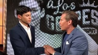 Download (DOPE) JULIO CESAR CHAVEZ COSIGNS RYAN GARCIA AS NEXT MEXICAN GREAT, TELLS HIM YOU CAN BE GREAT Video