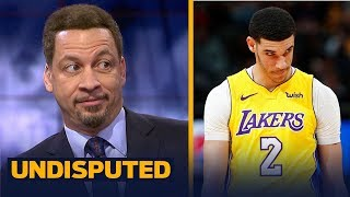 Download Chris Broussard talks Lonzo Ball's shooting slump in Lakers' loss to New Orleans | UNDISPUTED Video