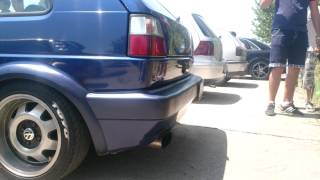 Download Car Show Gevgelija 08.06.2014...Golf II VR6 WINNER for Engine Sound!!!!!! Video