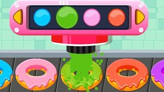 Download Baby Panda's Cafe - Fun Kids Kitchen Cooking Games - Baby Bus Learn Colors Cooking for Children Video