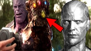 Download Avengers 4 VISION Mind Stone CURSED Thanos REVEALED! Thanos Will FEAR Using The Infinity Gauntlet! Video