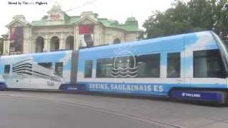 Download Trams in Riga, Latvia Video