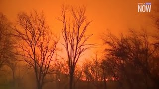 Download Thousands of Tenn. residents forced to evacuate from wildfires Video